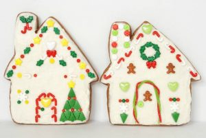 Perfectly Soft Gingerbread House Cookies