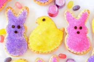 Peeps Berry-Filled Tarts