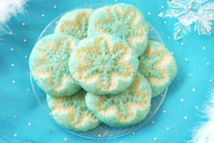 Frozen Snowflake Sugar Cookies