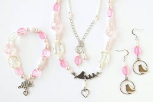 Jewelry Set – Necklace, Earrings, Bracelet