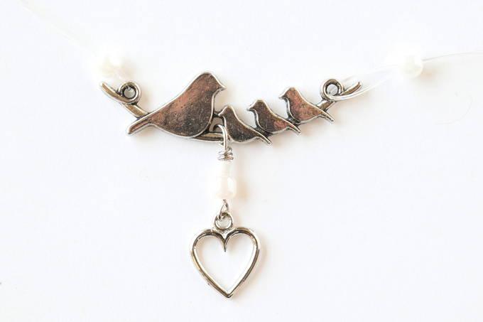Jewelry Set - Outer Necklace, Birds | yesilovewalmart.com