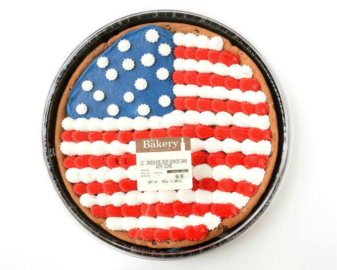Flag Cookie - Container | yesilovewalmart.com