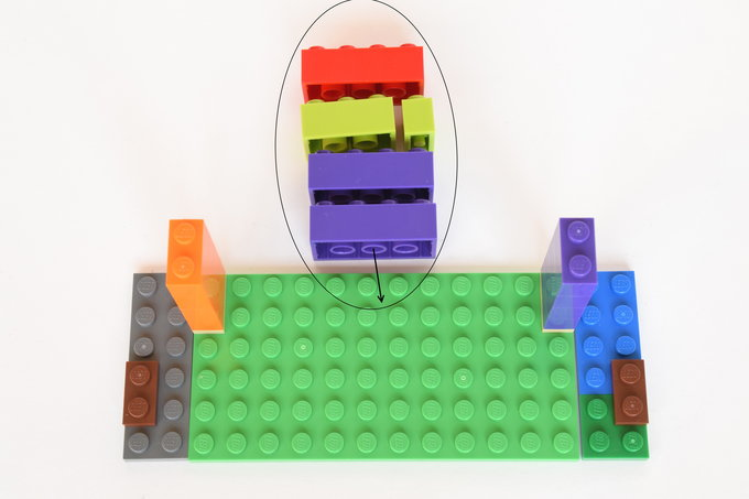 Lego Business Card Holder - Directions 3| yesilovewalmart.com