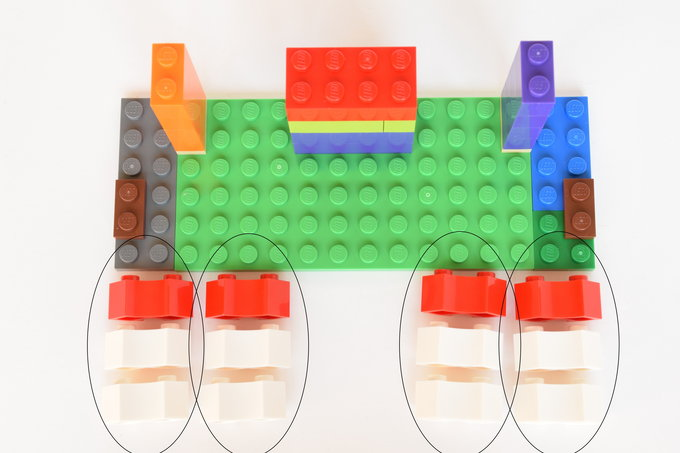 Lego Business Card Holder - Directions 4 | yesilovewalmart.com