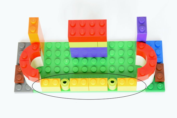Lego Business Card Holder - Directions 5 | yesilovewalmart.com