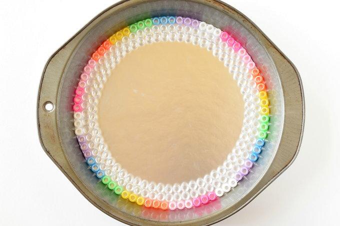 Melted Pony Beads - Dish Outline   yesilovewalmart.com