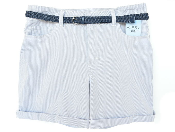 Colorful Shorts - Belted Cuff | yesilovewalmart