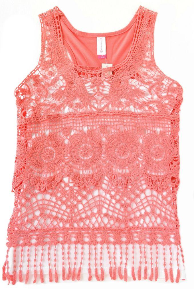 Lace Tops - Lace Tank | yesilovewalmart.com