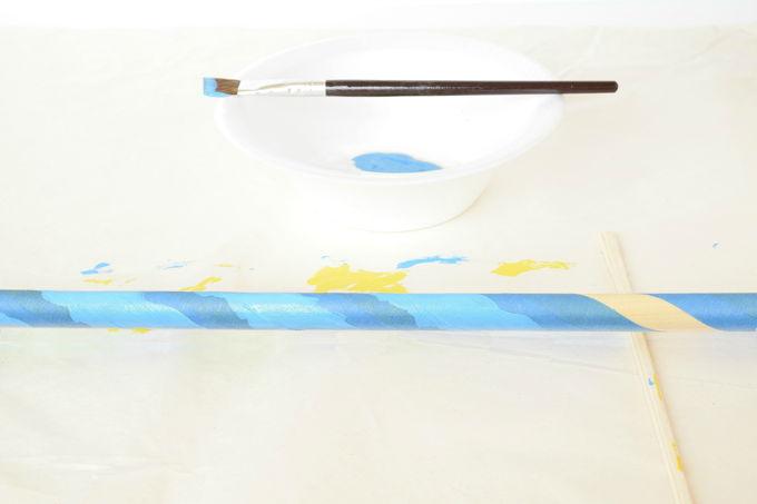 Giant Bubble Wand - Blue Paint | yesilovewalmart.com