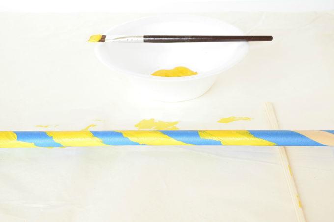 Giant Bubble Wand - Yellow Paint | yesilovewalmart.com