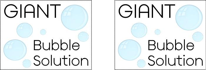 Giant Bubbles - Labels | yesilovewalmart.com
