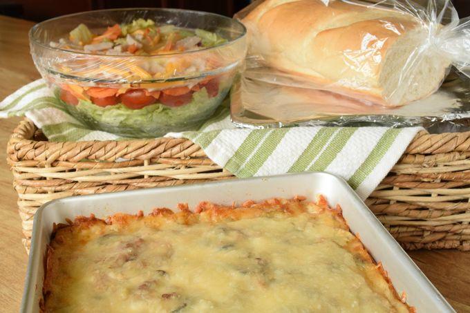 el-dorado-casserole-salad-bread | yesilovewalmart.com