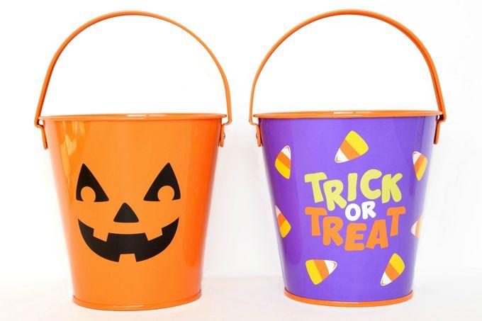 halloween-party-fun-pails | yesilovewalmart.com