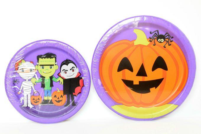 halloween-party-fun-plates | yesilovewalmart.com