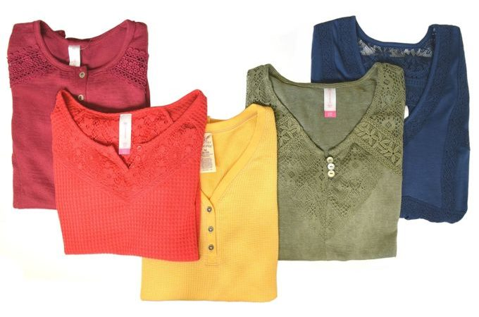 Fall Lace Tops | yesilovewalmart.com
