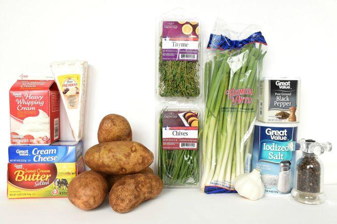 garlic-herb-mashed-potatoes-ingredients | Yesilovewalmart.com