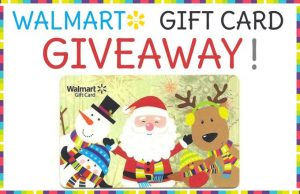 Giveaway – Gift Cards to Walmart!