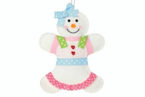 Adorable Felt Snow Girl