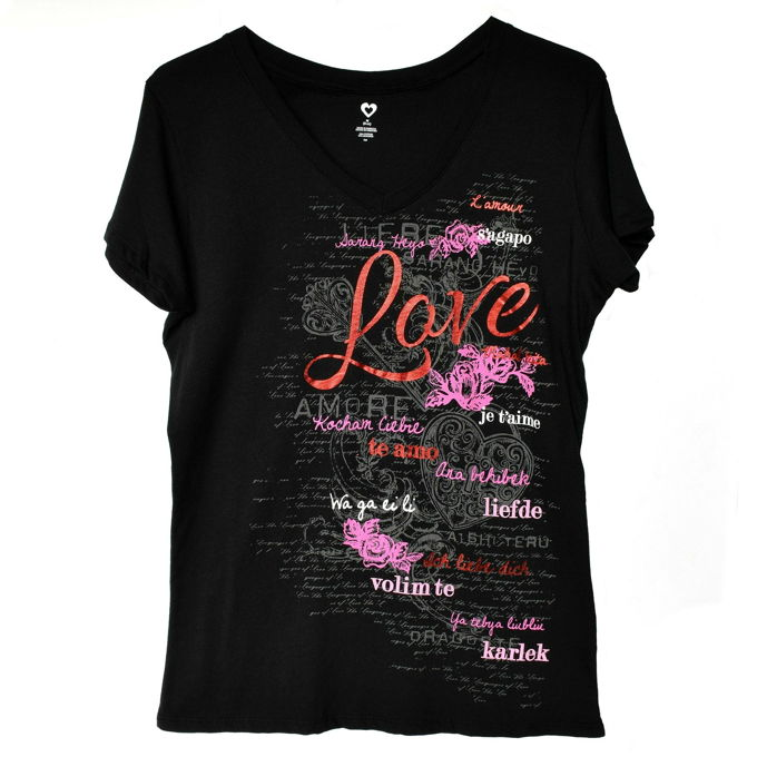 Valentine Shirts - Meow | yesilovewalmart.com