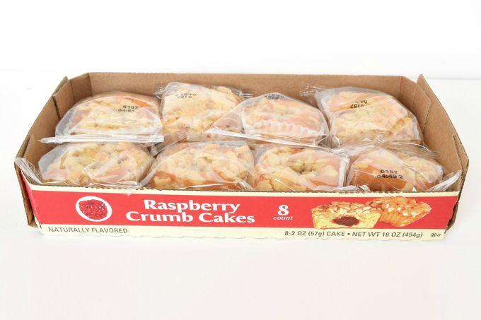 Raspberry Crumb Cakes - Box   yesilovewalmart.com