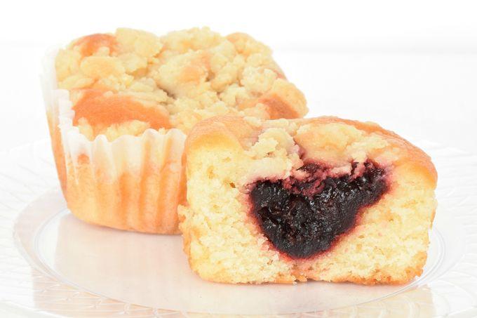 Raspberry Crumb Cakes   yesilovewalmart.com