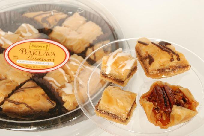 Baklava Pastry - Plate
