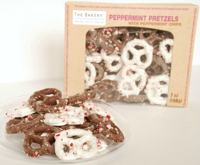 Chocolate Pretzels - Peppermint
