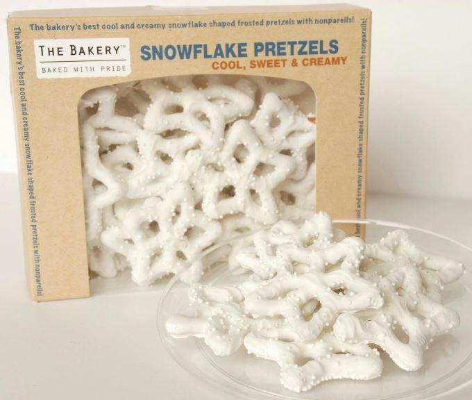 Chocolate Pretzels - Snowflake Pretzels