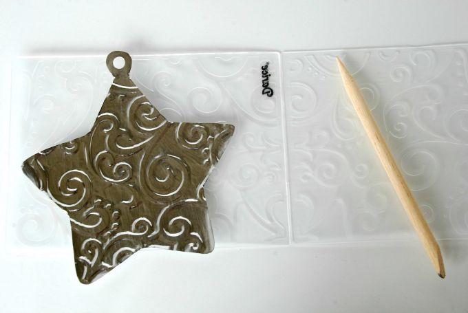 Embossed Metal Ornaments - Embossing