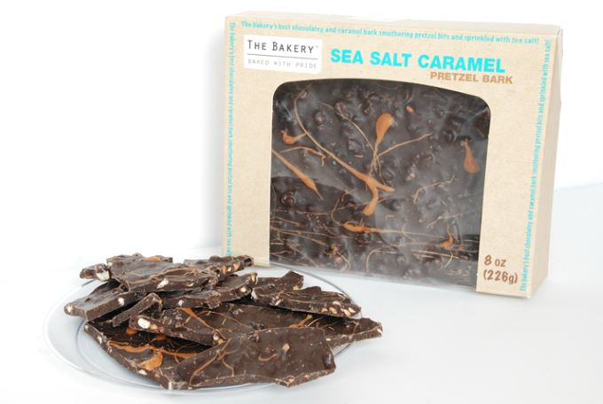 Peppermint, Caramel Pretzel Barks - Sea Salt Caramel