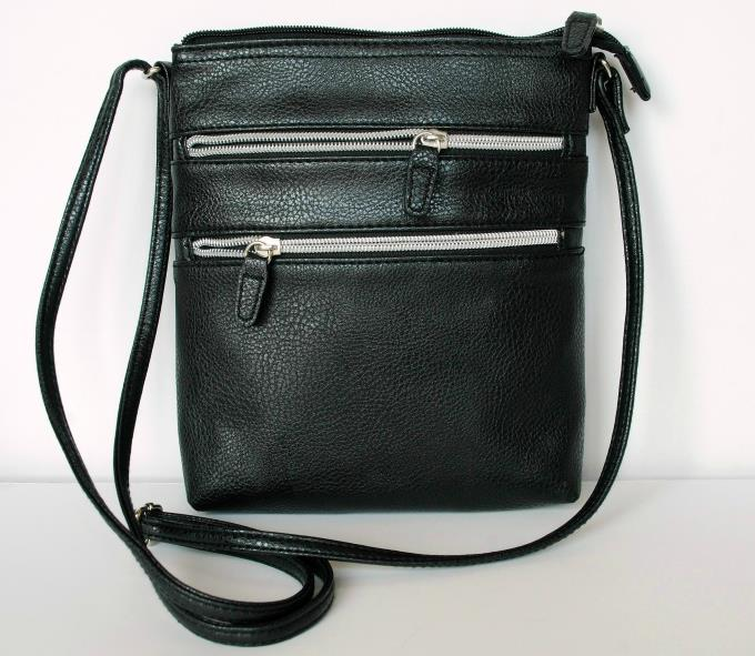 Black Peasant, Soft Jeggings - George Handbag - Black