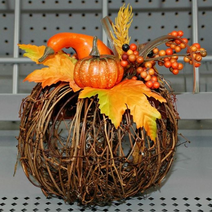 Fall Decor - Pre-Lit Pumpkin
