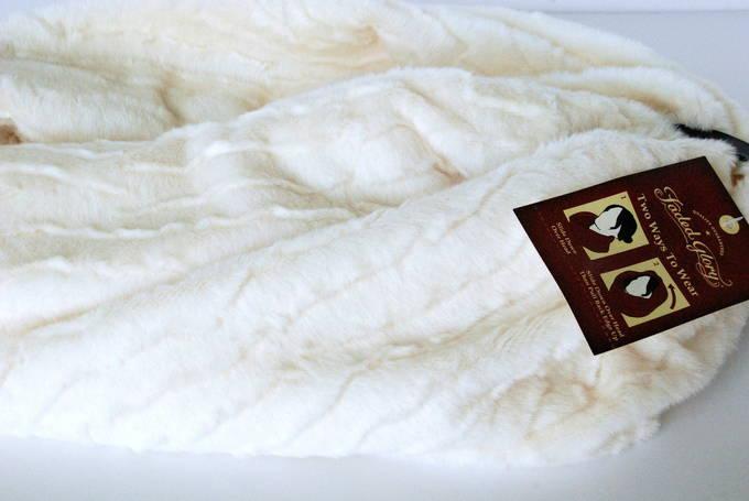 Fashionably Warm - Faux Fur Terry Cowl 2