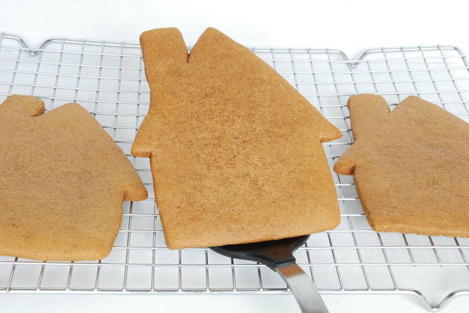 Gingerbread House Cookies - Plain