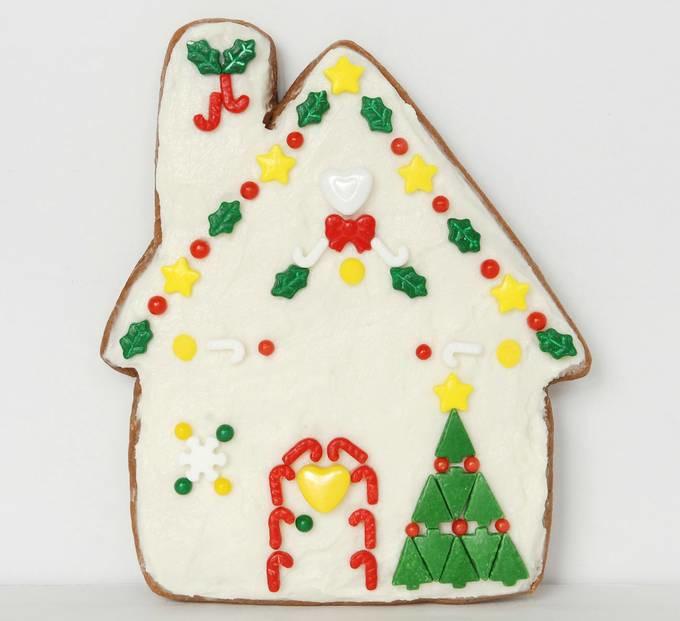 Gingerbread House Cookies - Tree Cookie