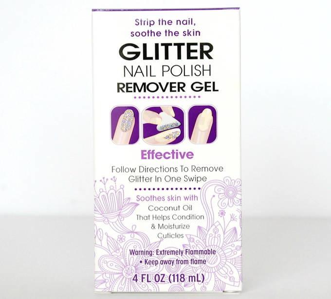 Glitter Nail Polish Remover Gel - Box