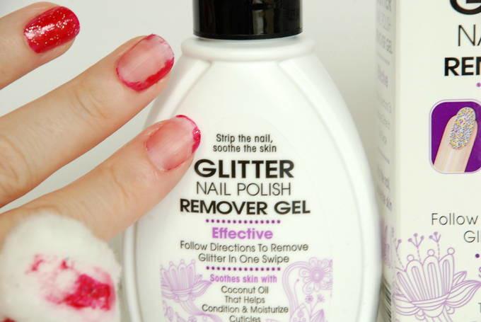 Glitter Nail Polish Remover Gel - Remove