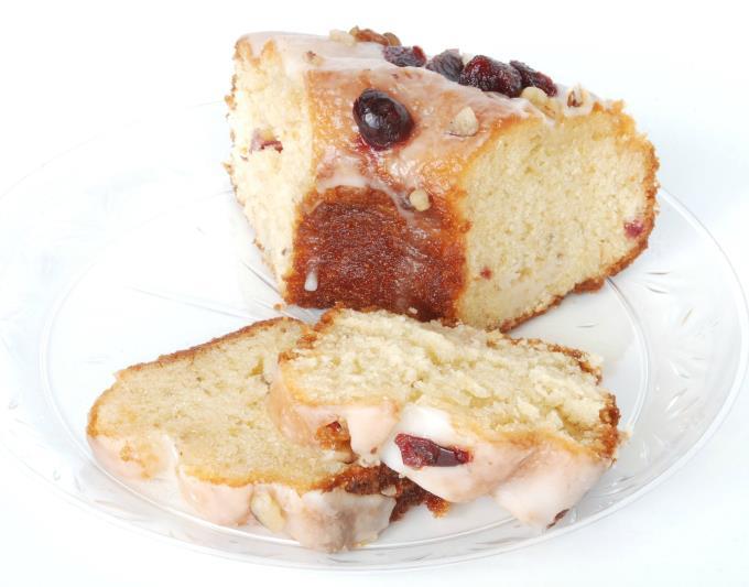 Pound Cakes - Orange Cranberry