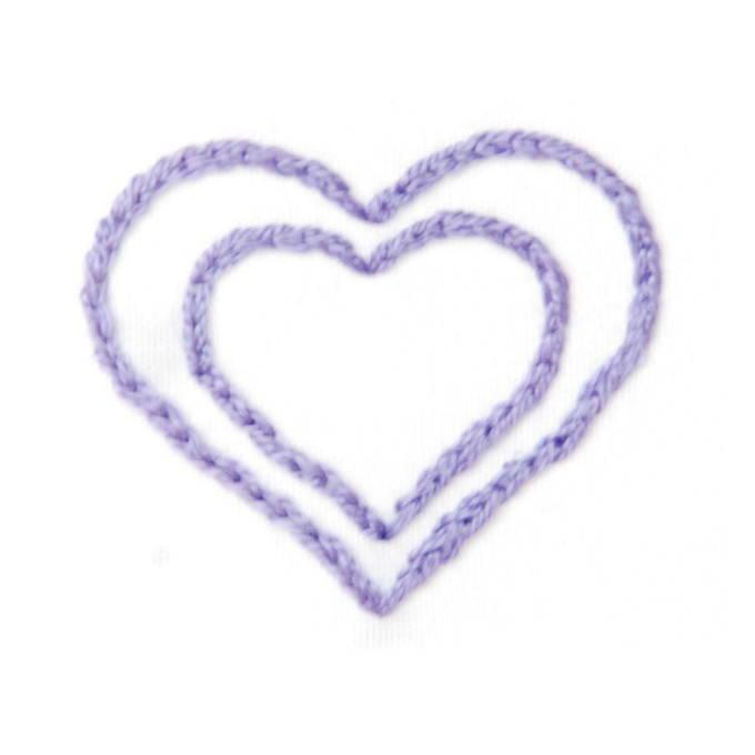Embroidery Stitches - Satin Stitch 1