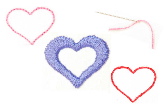 Personalize with Embroidery Stitches