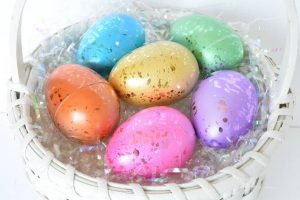 Colorful Easter Decor | yesilovewalmart.com