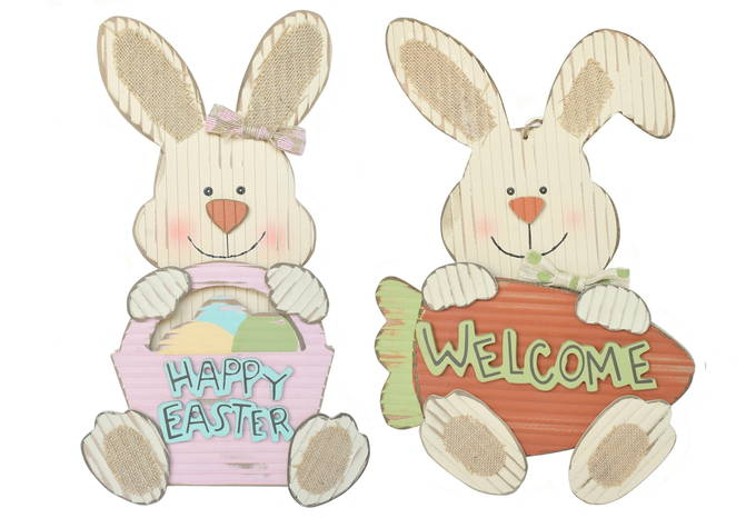 Colorful Easter Decor - Vintage Bunny | yesilovewalmart.com