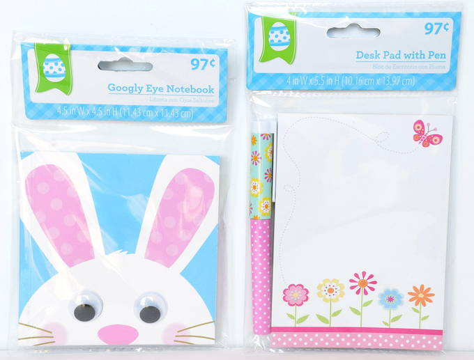 Easter Basket Gifts - Notebook, Pen | yesilovewalmart.com