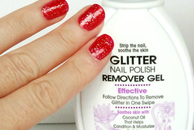 Glitter Nail Polish Remover Gel - Yes I Love Walmart