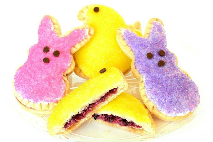 Peeps Berry-Filled Tarts - Inside | yesilovewalmart.com