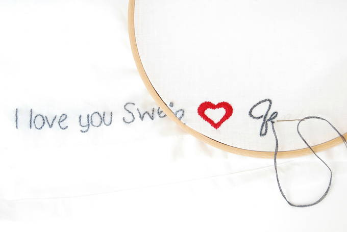 Show Your Love With Personalized Embroidery - Hoop