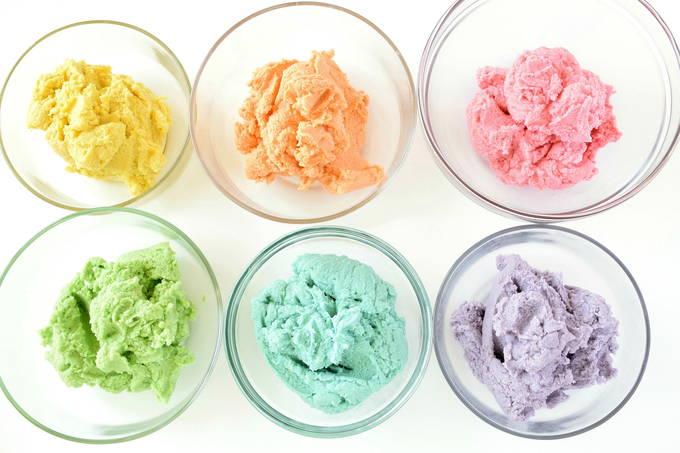 Rainbow Shortbread Cookies - Cookie Stamps | yesilovewalmart.com