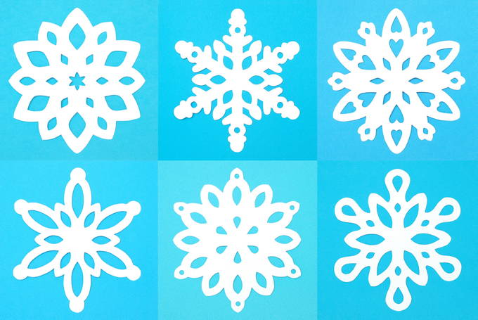 Paper Snowflake Patterns - Elsa Series