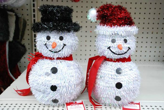Sparkly Cute - Tinsel Snowman