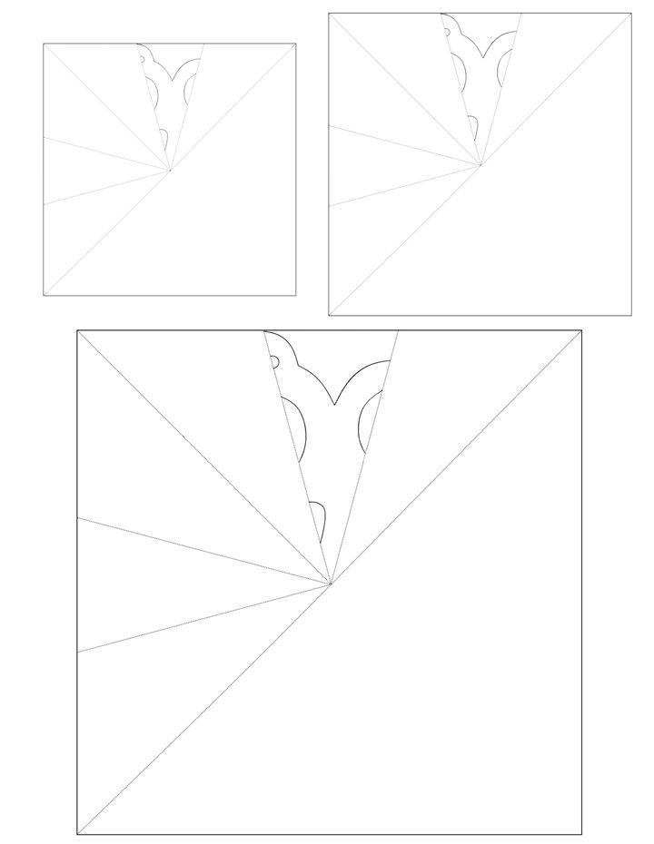 Window Snowflakes - Isabella Pattern 2